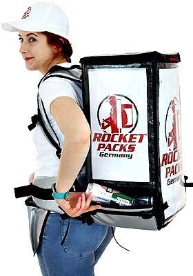 backpack for beer can