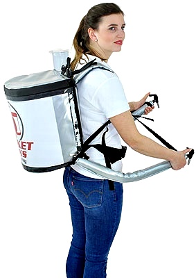 backpack for beverage marketing